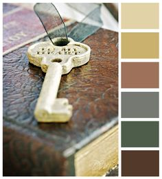 Check out this awesome website called Pick Your Palette.  Great for planning wedding colors, home decorating, and even if you're looking for color inspiration for scrapbooking or paper crafting projects.