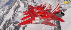 The aviation filmmaker Yannick Barthe has filmed exclusive aerial sequences in flight with the Patrouille Suisse over the Swiss alps and in front of the iconic Swiss Mountain Matterhorn. Amazing pictures to discover in 4K. Copyright Yannick Barthe Films, VBS, DDPS.