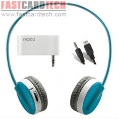 Rapoo H3070 for iPhone/iPod/MP3 3.5mm Interface Wireless 2.4Ghz stereo headset headphone