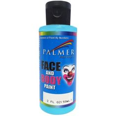 Face & Body Paint 2oz-Turquoise - Walmart.com