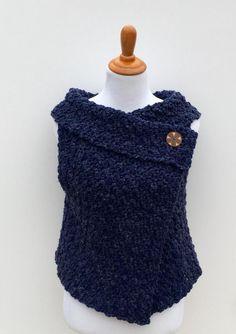 Crochet PATTERN Women Vest Chunky Women Vest Beginner | Etsy