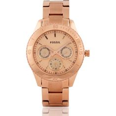 Buy Fossil ES2859 Gold Women's Analog Watch by E TRADERS RETAIL, on Paytm, Price: Rs.7995?utm_medium=pintrest