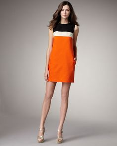 Erin Fetherston shift dress - work to happy hour