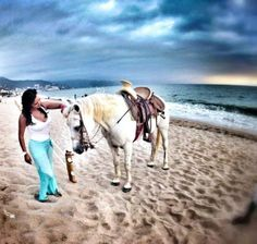 Embrace adventure at Secrets Vallarta with horseback riding right on the beach!