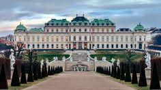 upper belvedere palace backround for desktops by Tavon Gordon (2017-03-18)