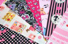 lolita fabric scrap si107 by beautifulwork on Etsy, $7.50