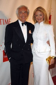 Ralph Lauren & wife Ricki
