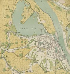 Hanoi Map, 1891
