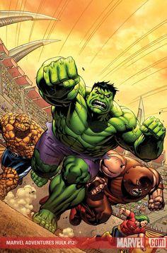 #Hulk #Fan #Art. (MARVEL ADVENTURES HULK #12 Cover) By: Carlo Pagualyan. ÅWESOMENESS!!! [THANK U 4 PINNING!!]