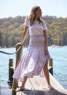 Long Skirt Outfits, Date Outfits, Chic Outfits, Pretty Outfits, Summer Outfits, Modest Outfits, Modest Fashion, Girl Fashion, Apostolic Fashion