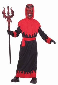 Devil Lord Costume Child | FantasyCostumes.com