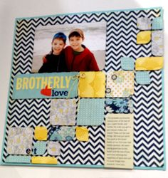 NEW BasicGrey CHA - Brotherly Love - Scrapbook.com