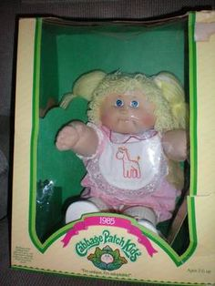 Nothing like a doll with a tatooed name on its butt. My first one's name was Jacobian Dee. Remember how the parents went crazy at Christmas time trying to buy these dolls for presents for their daughters? It was like the Elmo craze of the 90s.