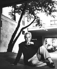 #Atribute to Milan: Giorgio Armani in 1987. Photo by Richard Corman. Read more about the designer's connection with the city he calls home on Armani.com/Atribute.
