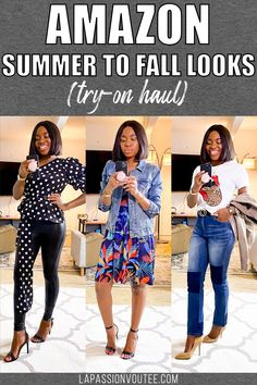 Time to start planning/transitioning summer to fall outfit. Today's video shares how to wear summer clothes for fall with affordable fashion finds from Amazon. #amazonhaul #amazonfashion Black Fashion Bloggers, Black Women Fashion, Casual Street Style, Street Style Women, Fall Outfits, Summer Outfits, Birthday Outfit For Women, Trendy Shoes, Anniversary Sale
