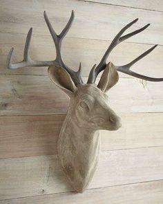 Gorgeous Faux Deer Head. Or Ya Know, You Could Go Shoot A Real One
