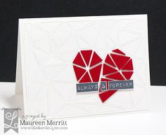 Maureen Merritt for Lil' Inker Designs featuring the Faceted Cover Up die and…