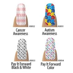Get your charity nail shields at www.denisew.jamberrynails.net They will be available starting on 3/15/12 Buy 3 shields get one free. Free shipping too. Independent Representative