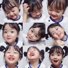 Cô nhóc Hàn Quốc đáng yêu tới nỗi xem ảnh mà chỉ muốn lao ngay vào... cắn má - Ảnh 13. Cute Asian Babies, Korean Babies, Asian Kids, Cute Babies, Cute Baby Girl Pictures, Baby Photos, Cute Little Baby, Little Babies, Girl Cartoon Characters