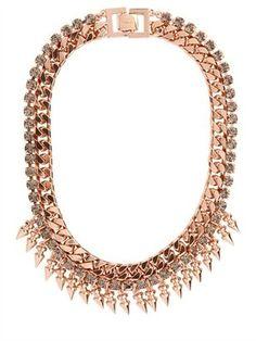 Mawi - Rose Metal Necklace