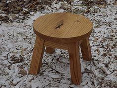 Oak step stool/ wood step stool/ farmhouse/ foot stool/ m...