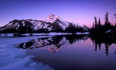 "Jefferson mt oregon | Картинка "" Oregon s Mount Jefferson "" скачать ..."