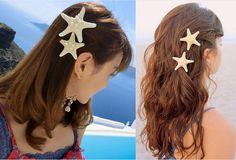 Cute Unique Sea Star Womens Girls Elegant Beauty Starfish Hairpin Hair Clip for sale online Mermaid Hair, Clip, E Bay, Special Gifts, Hair Pins, Women Accessories, Place Card Holders, Drop Earrings, Hair