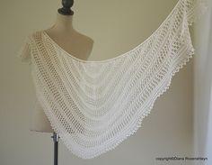 Ravelry: Palessie shawl pattern by Diana Rozenshteyn