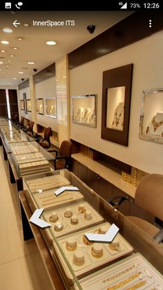 Backside Counter Counter Jewelry Store Design Jewellery Shop