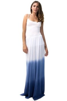 LA made ombre maxi skirt- we have this in mocha!