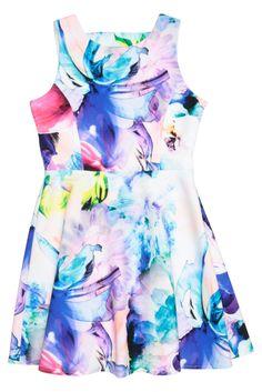 Miss 10:  Bardot Junior - Bloom Dress With Bows 33564Dbg1