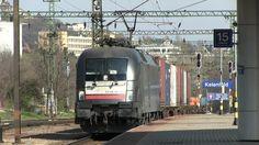 [MÁV] Электровоз ES 64 U2 069 на ст. Келенфёлд, Будапешт, Венгрия, 31.03.2016 [MÁV] ES 64 U2 069 passing Kelenföld station, Budapest, Hungary, 31.03.2016