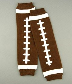 Football Legwarmers - The Couture Baby
