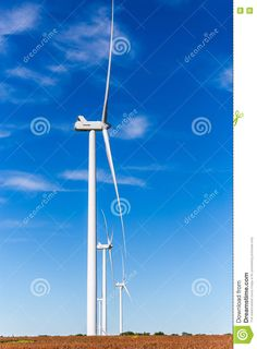 Wind Turbines - Download From Over 48 Million High Quality Stock Photos, Images, Vectors. Sign up for FREE today. Image: 77833461