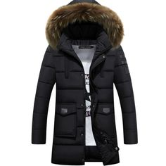 52.44$  Buy here - http://ali4tj.shopchina.info/go.php?t=32754572181 - tee tops Winter Jacket Men Coats Thick Warm Casual Collar  Winter Windproof Hooded Outwear Men Outwear many  52.44$ #magazineonlinewebsite