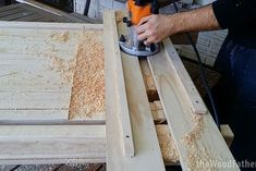 Woodworking School How to Make a Solid and Cheap Workbench Woodworking Courses, Used Woodworking Tools, Woodworking Workshop, Woodworking Crafts, Building A Workbench, Workbench Plans, Woodworking Workbench, Workbench Top, Build Your Own Garage