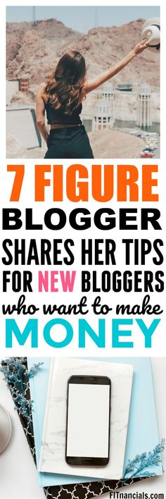 Millionaire Blogger Shares Her Top Tips For Beginner Bloggers via @fitnancials