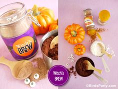 Bird's Party Blog: Make Your Own Witch's Brew aka Pumpkin Spice Hot Cocoa Mix