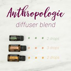 If you are a lover of Anthropologie like I am, then this diffuser blend is for you! The fresh, awakening, and clean aroma smells like you are walking into Anthropologie and are suddenly inspired to dress prettier, go to more parties, exercise (am I the only one who feels like this), and cook up something Instagram-worthy.