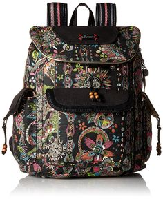 Sakroots Artist Circle Flap Backpack ^^ Tried it! Love it! Click the image. : Backpacking bags