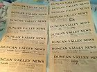newspapers 1933 DUNCAN VALLEY AZ Clifton Morenci Greenlee County AZ - 1933, Clifton, County, Duncan, Greenlee, Morenci, Newspapers..., Valley