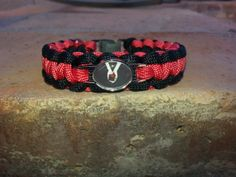Twilight Paracord Survival Bracelet by DavesParacords on Etsy, $12.00