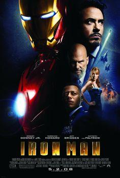 Thursday, August 7 @ 4 Iron Man (2008) Poster