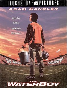 The Waterboy. This is my favorite Adam Sandler movie of all time. Tackling Fuel. 5 of 5 Comedy Movies, Hd Movies, Movies Online, Watch Movies, Novel Movies, Cult Movies, Movies For Boys, Great Movies, Awesome Movies