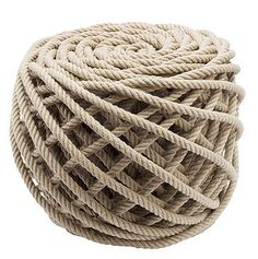 = Rope Stool = Christien Meindertsma