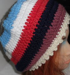 Beautiful Assorted Color Handmade Hat Multicolored by lanesamarie