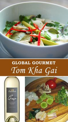 Global Gourmet: Learn how to make Thai Tom Kha Gai at home