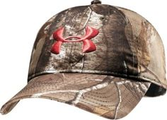 Under Armour's Women's Camo Cap is the perfect addition to your hunting ensemble. Unstructured cap has a moisture-wicking HeatGear® sweatband.