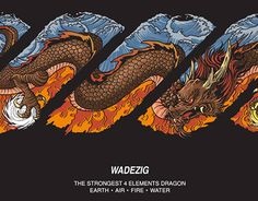 "Check out new work on my @Behance portfolio: ""Twisty Logo/ WADEZIG/ The Strongest 4 Elements Dragon"" http://be.net/gallery/51957391/Twisty-Logo-WADEZIG-The-Strongest-4-Elements-Dragon"