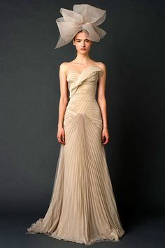 Dear Vera Wang:  You are the only reason why I would get married.